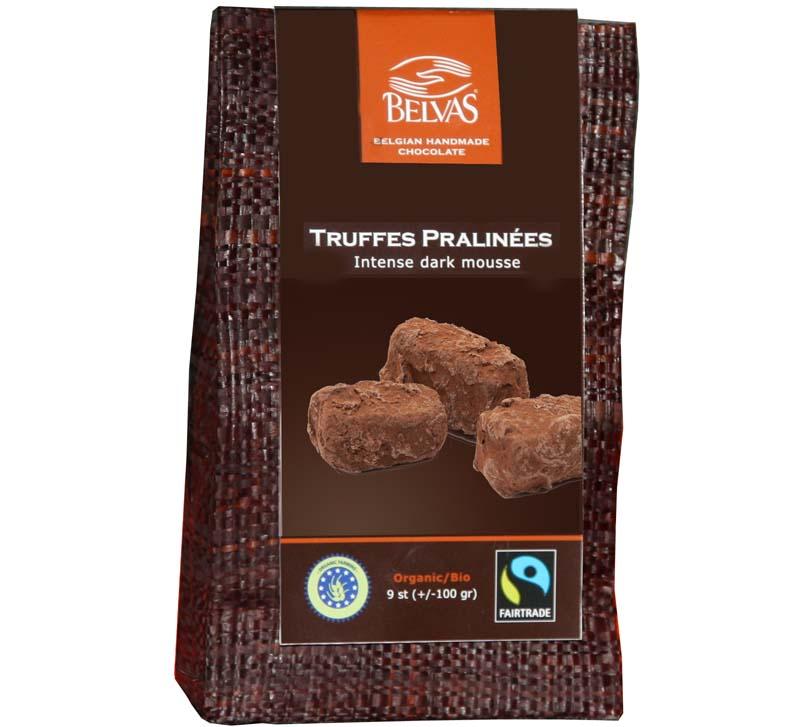 Belvas - Truffes au Chocolat - 100 gr