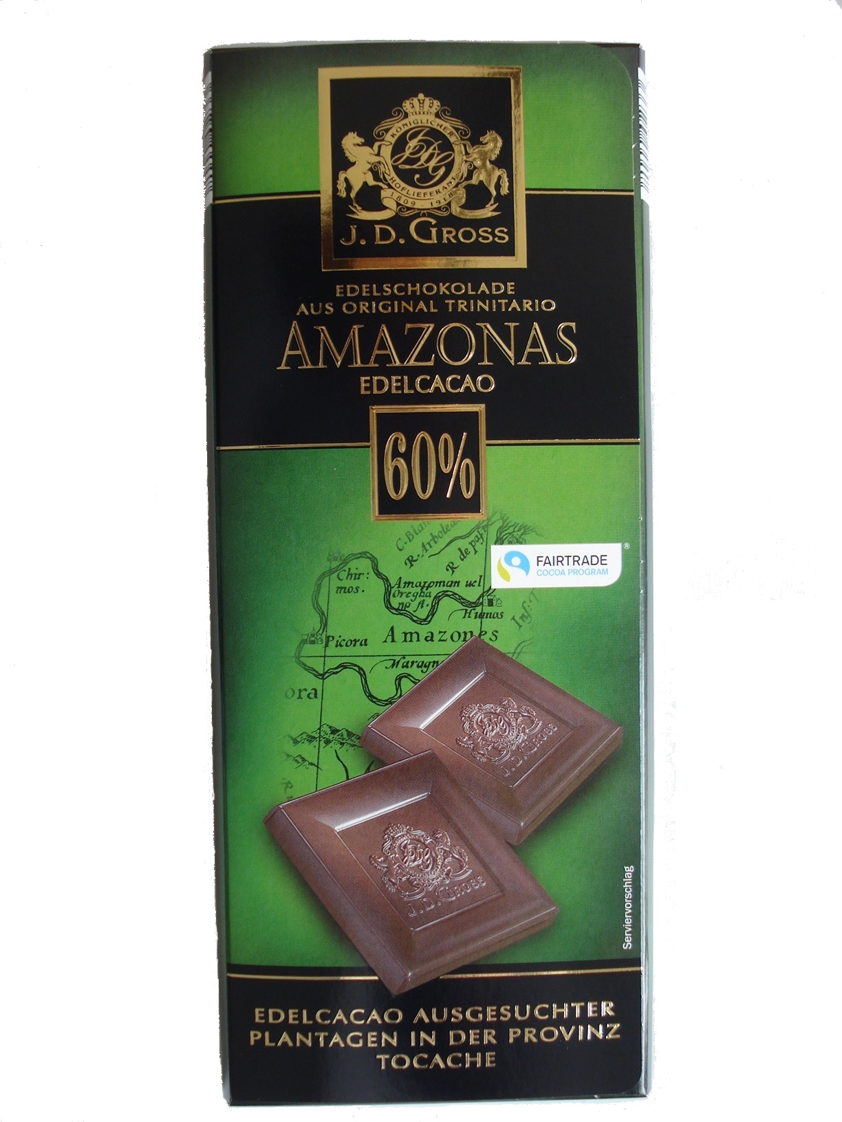 Dark Chocoolate Amazonas, 60%