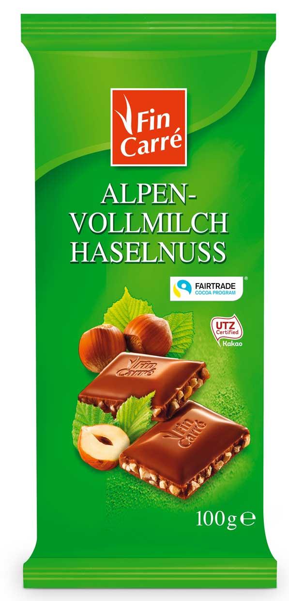 Alpen Vollmilch Haselnuss