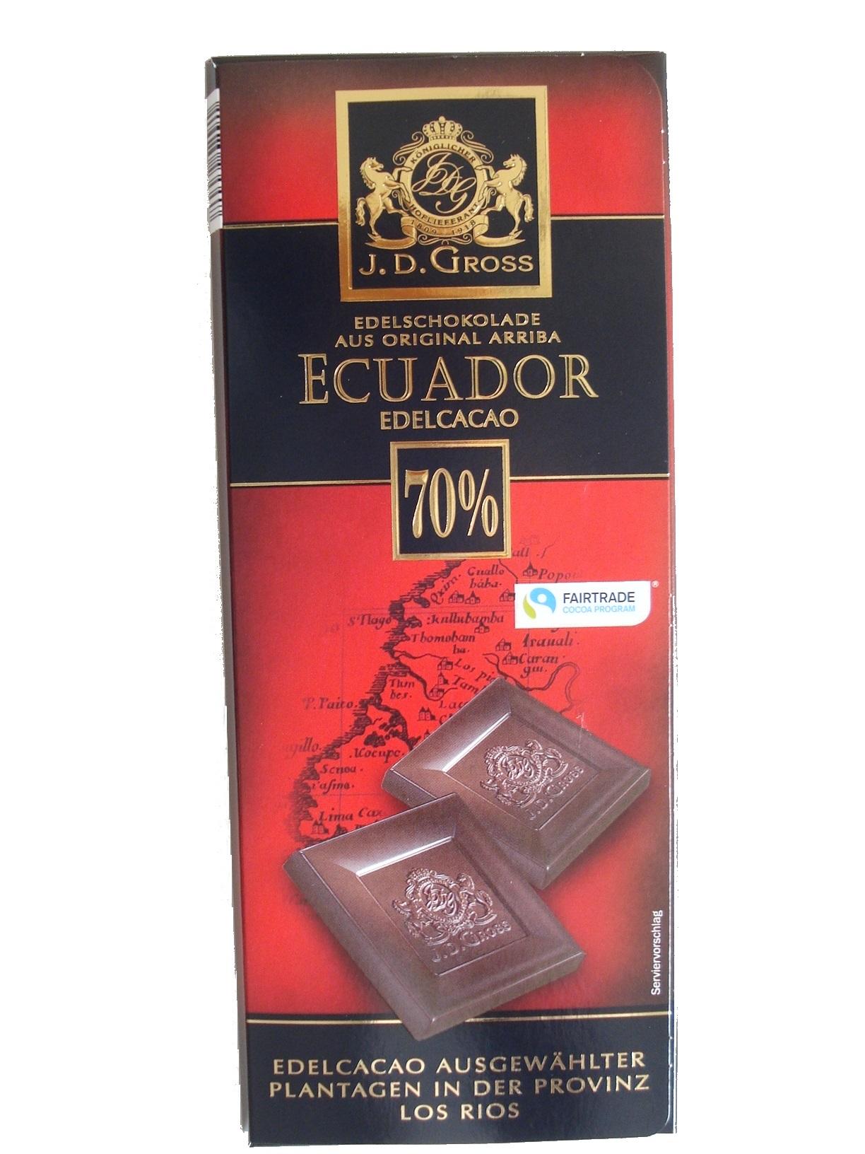 Dark Chocolate Ecuador, 70%