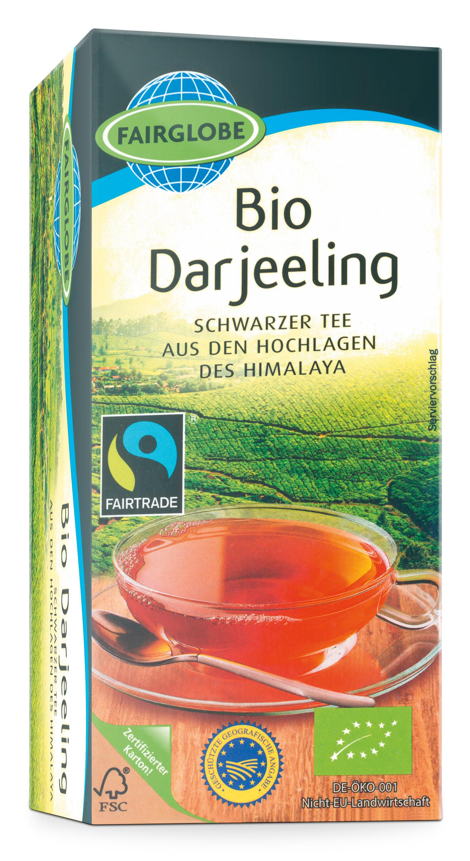 Bio Darjeeling, 25 x 2g