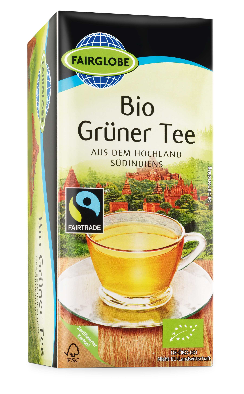 Bio Grüner Tee, 25×1,75g