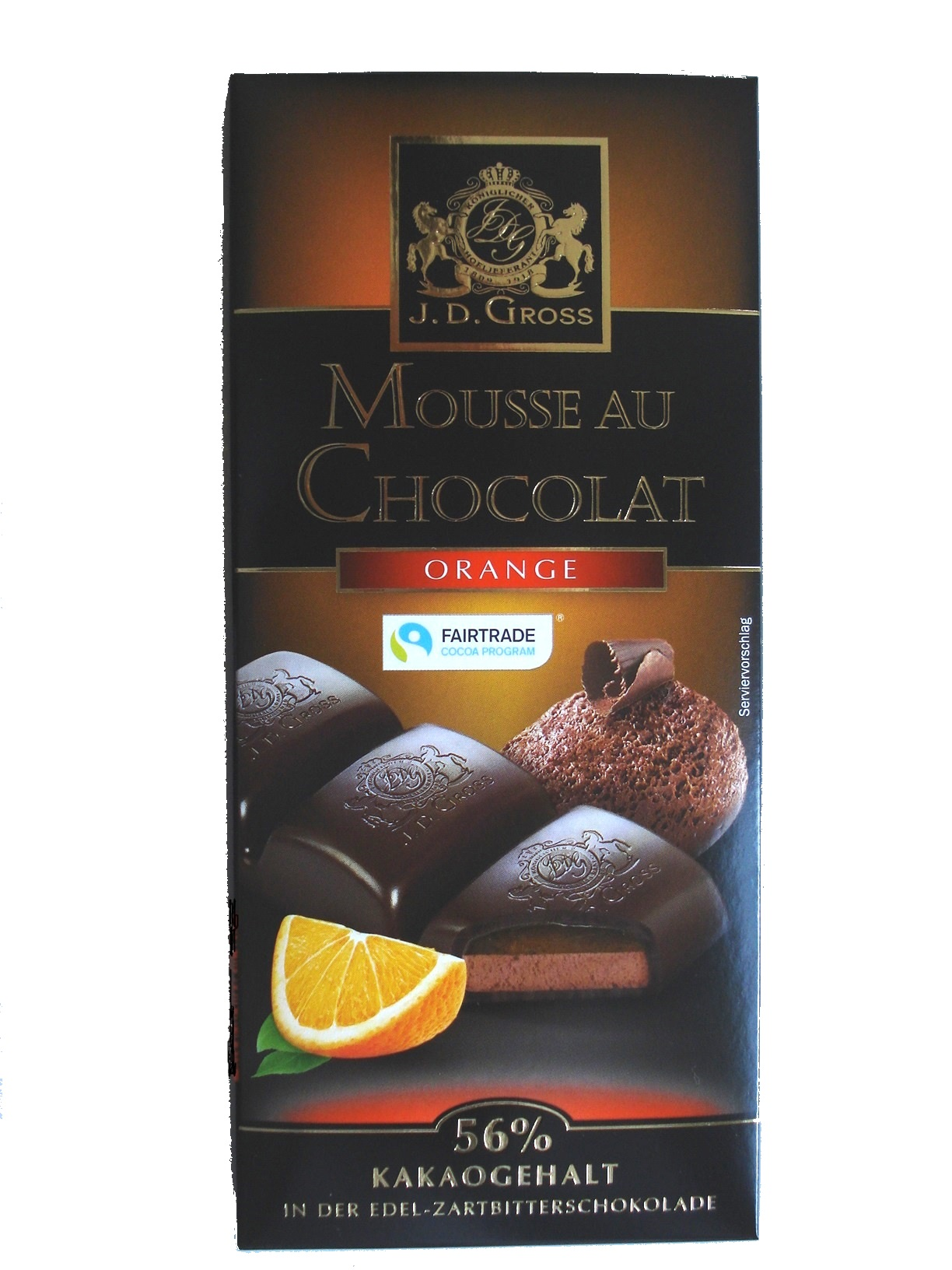 Mousse au Chocolat Orange