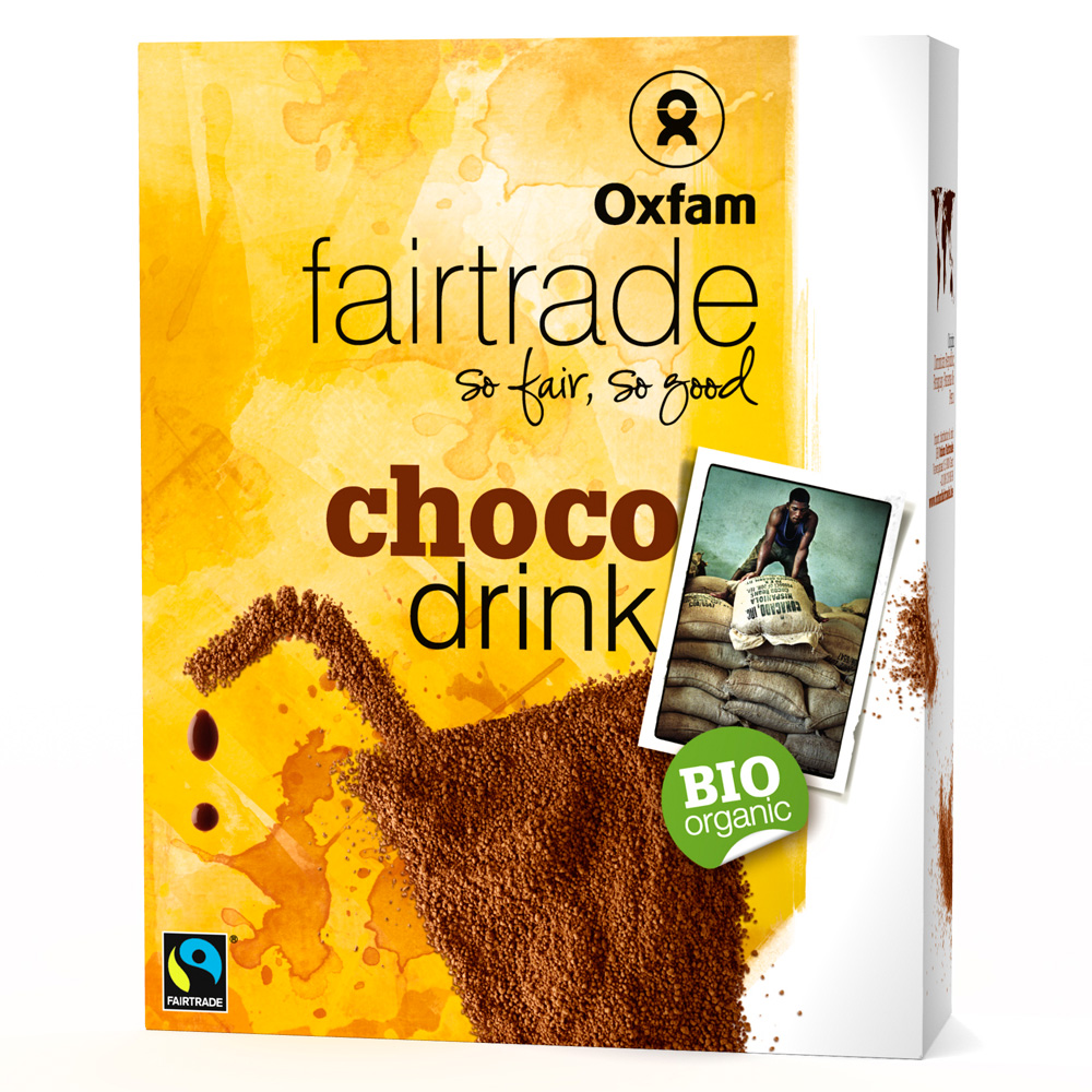 Oxfam Fair Trade – Choco drink bio poudre – 375 gr