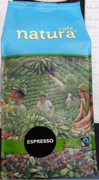 Cafe Natura FT Espresso Bio 8x1000g