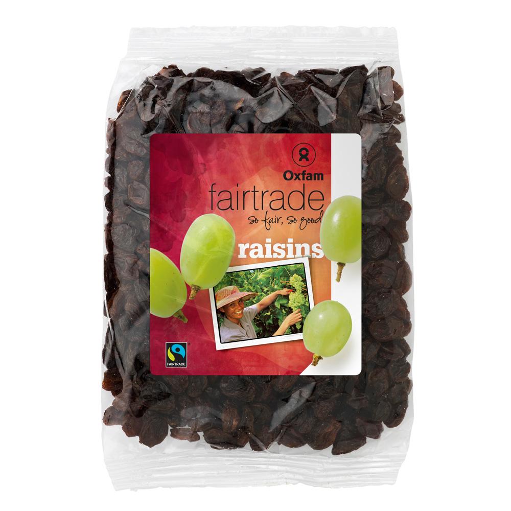 Oxfam Fair Trade - Raisins secs – 200 gr