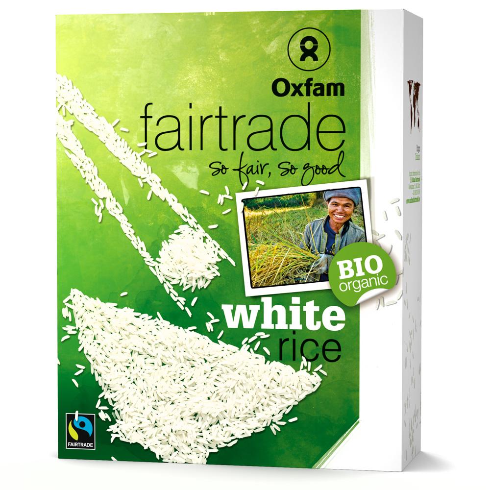Oxfam Fair Trade - ORGANIC White rice - 1 kg