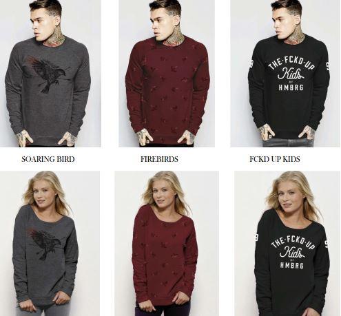 Sweatshirt, Women & Men