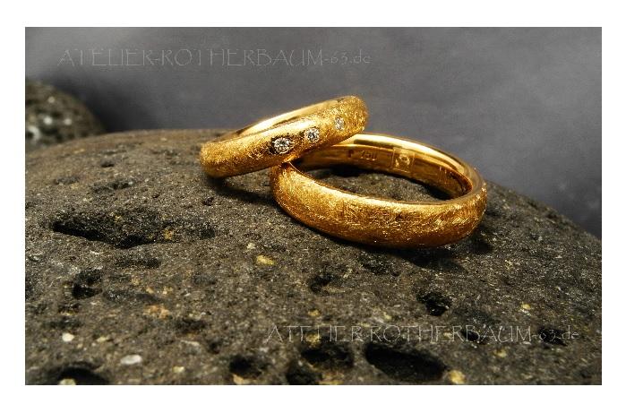 Trauringe, gold
