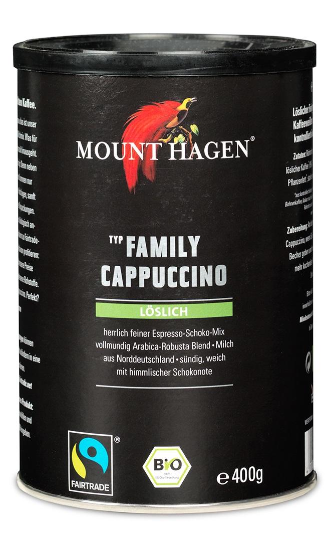 Bio Family Cappuccino, löslich
