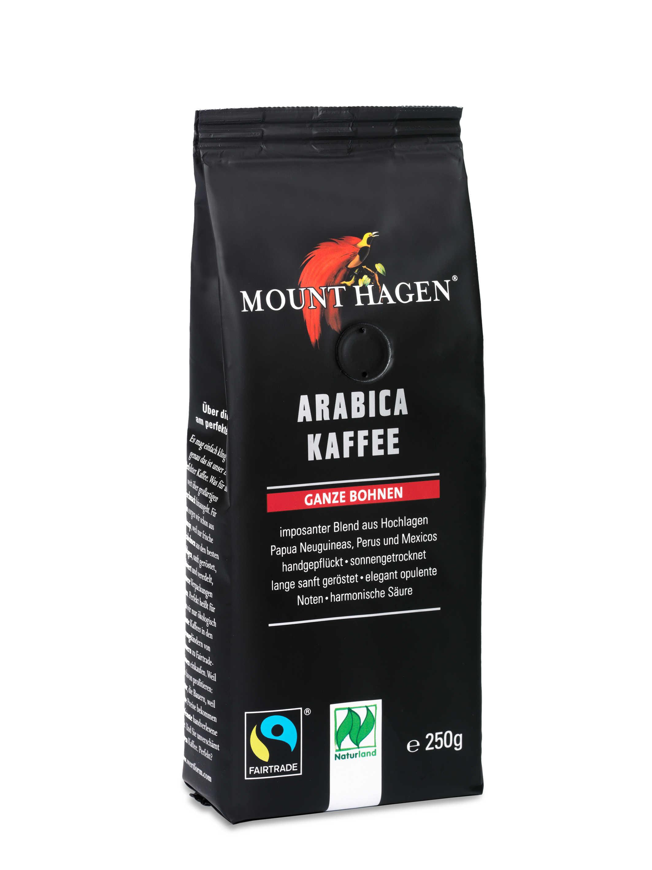 Arabica Kaffee, ganze Bohne