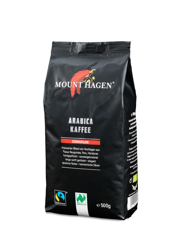 Arabica Kaffee, gemahlen