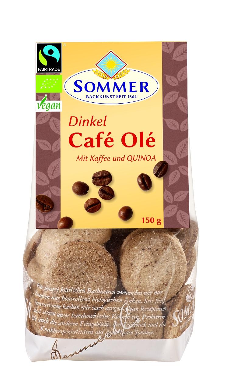 Café Olé - Dinkelgebäck mit Quinoa u. Kaffee