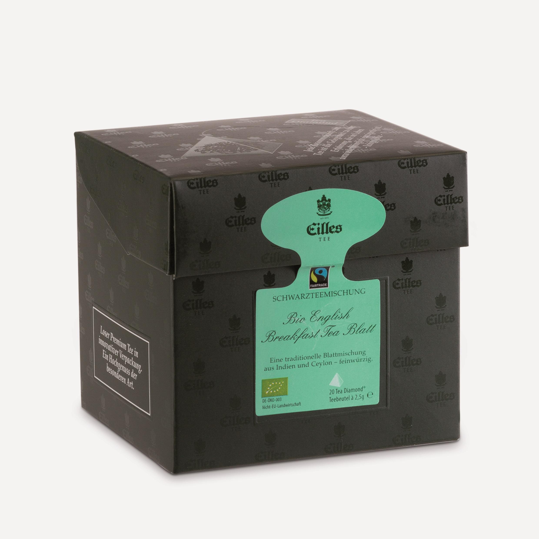 Bio English Breakfast Tea Blatt, 20×2,5g