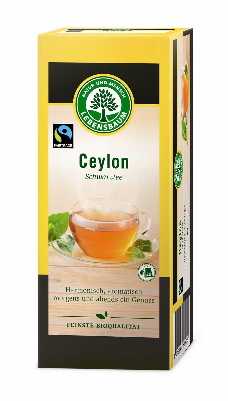 Ceylon Schwarztee, 20x2g