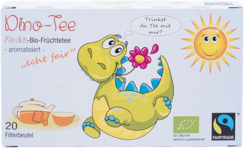 Dino- Tee, Kinder- Bio- Früchtetee, 20x3g