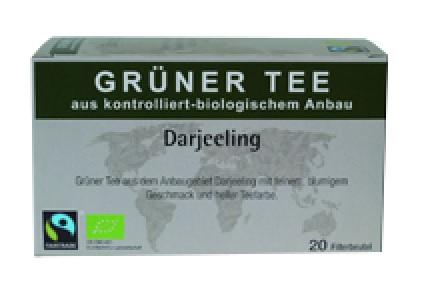 Grüner Tee Darjeeling, 20x1,75g