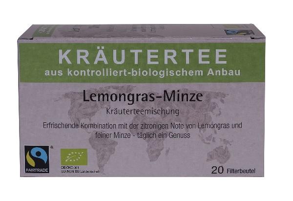 Kräutertee Lemongras-Minze, 20x2g
