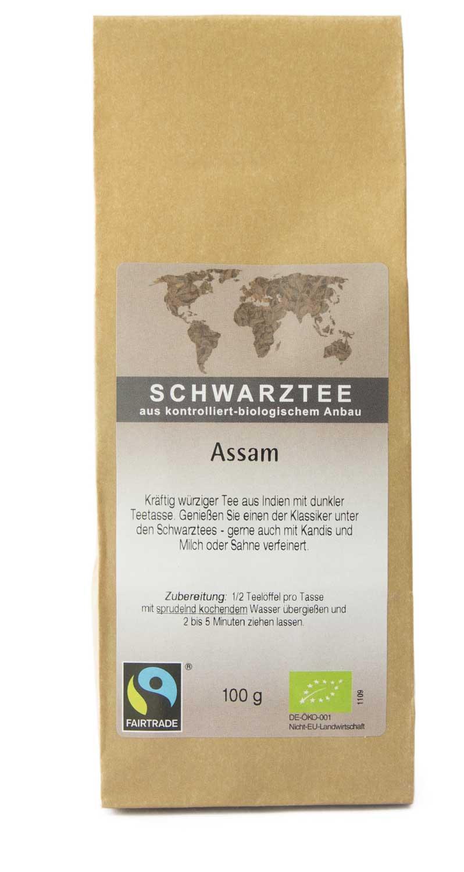 Schwarztee Assam