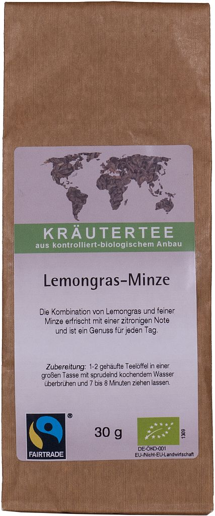 Kräutertee Lemongras-Minze, 30g lose