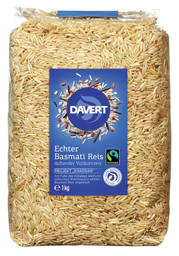 Echter Demeter Basmati Reis, duftender Vollkornreis