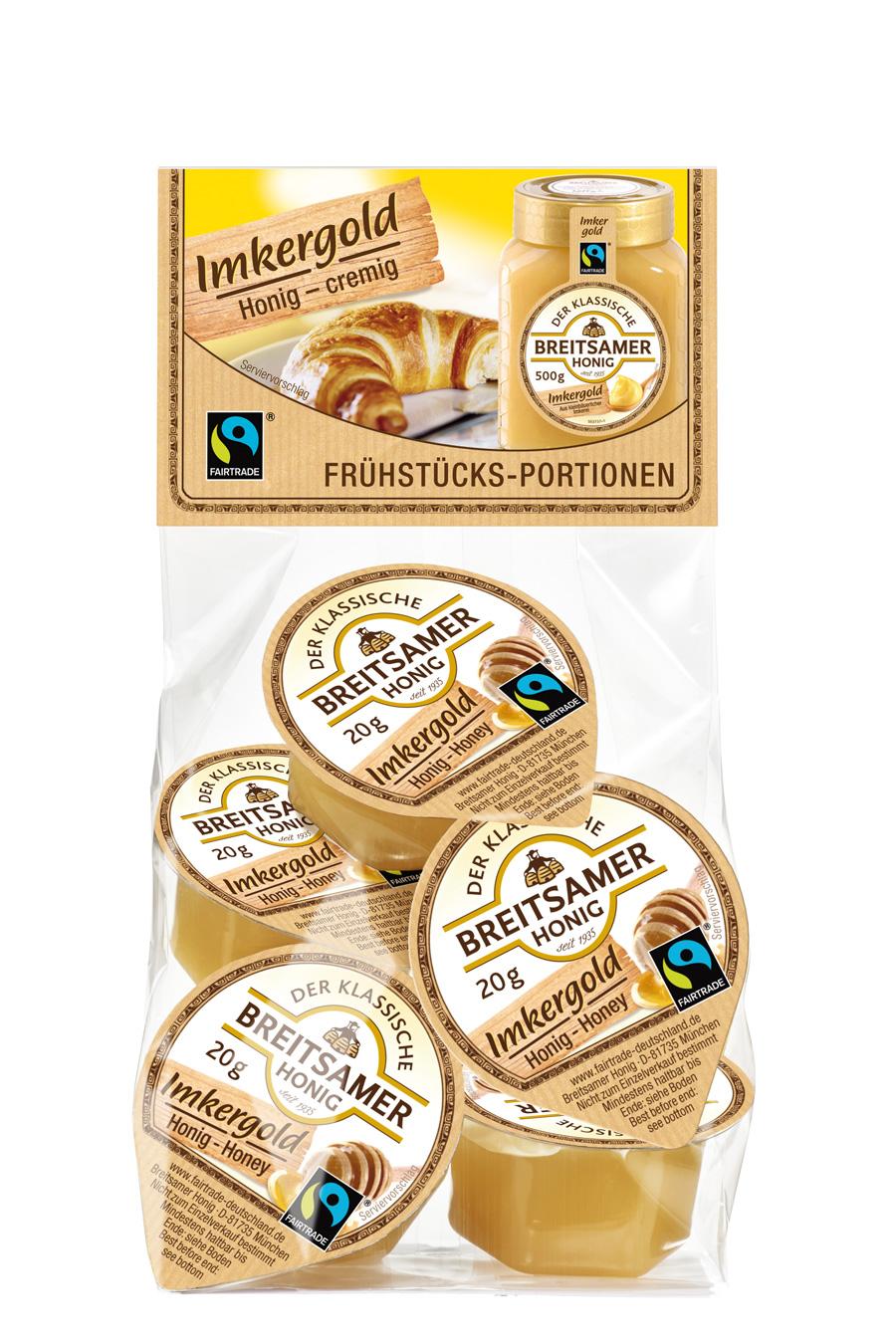 Imkergold Frühstücks-Portionen 5x20g, cremig