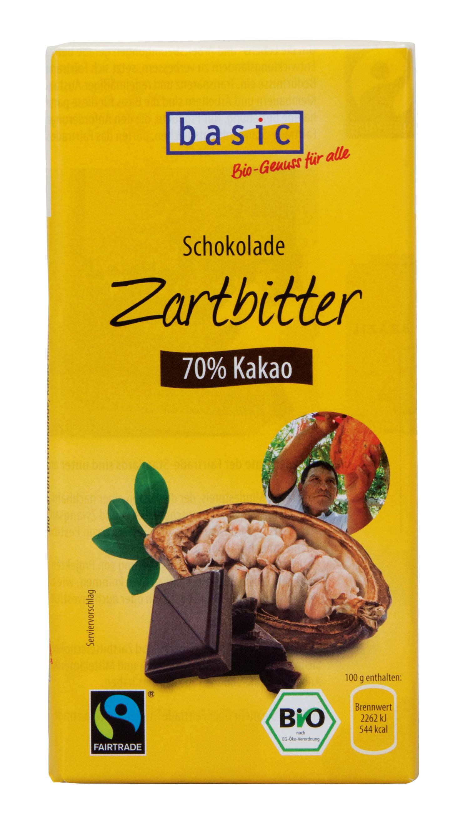 Zartbitterschokolade 70%
