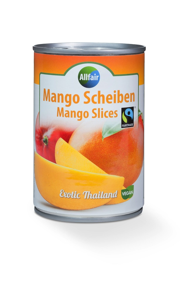 Mango Scheiben