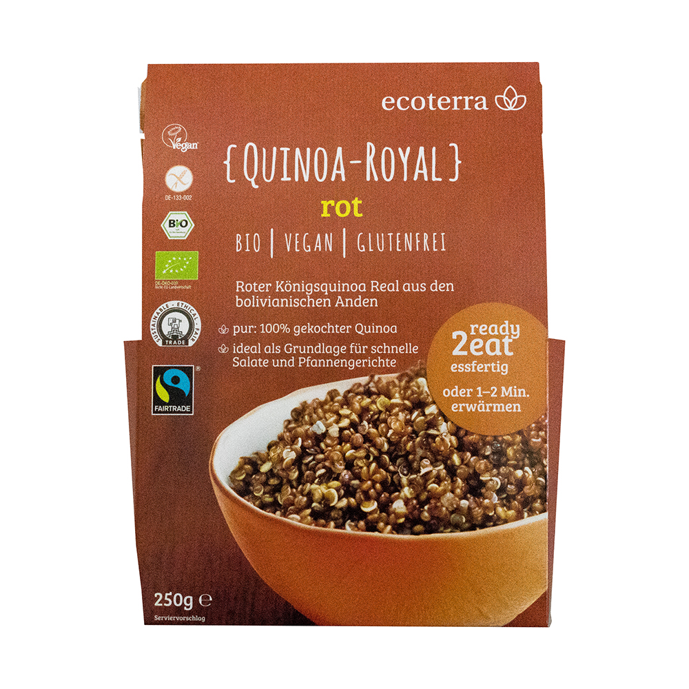 Quinoa- Royal, rot