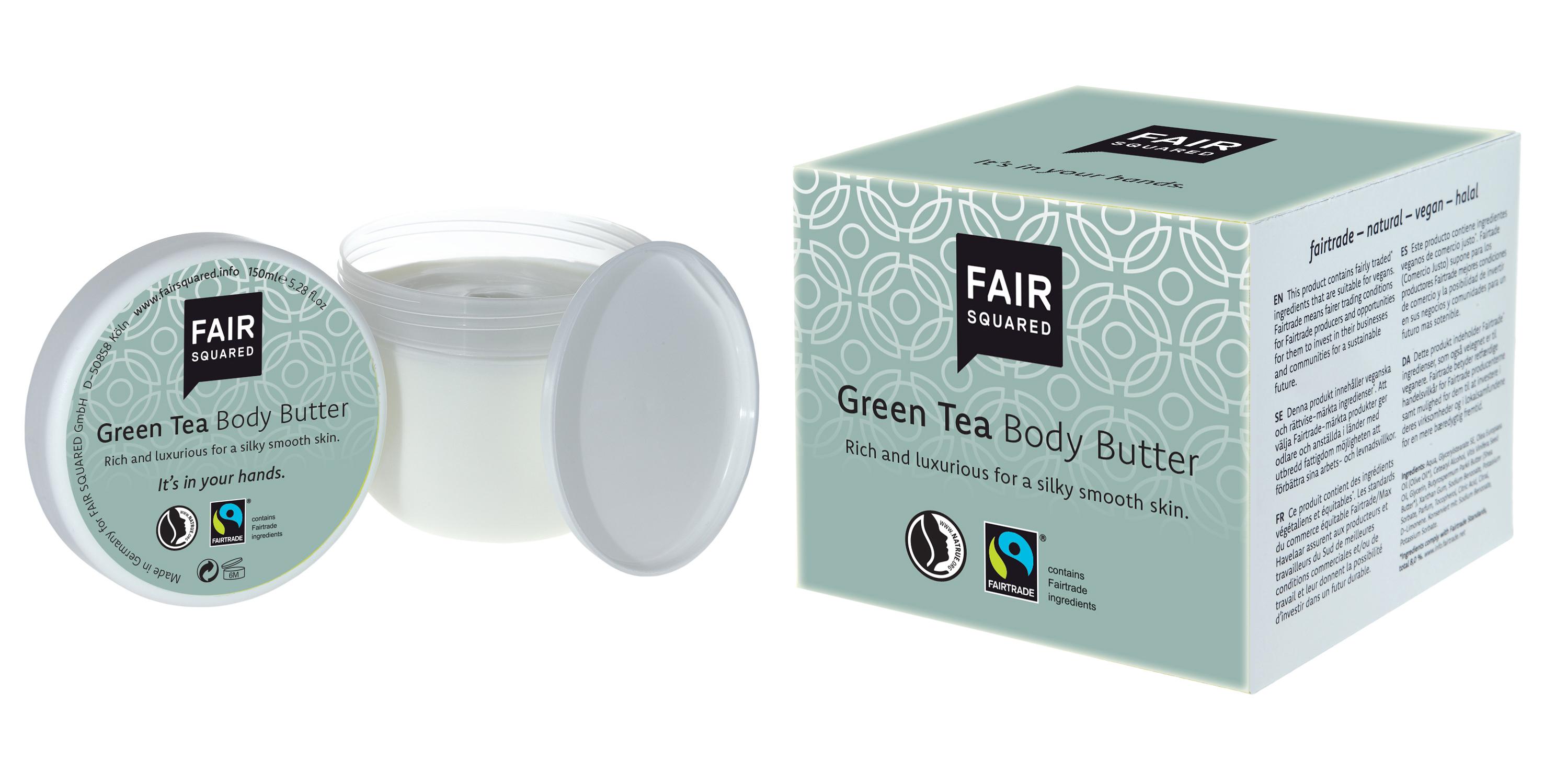 Body Butter Green Tea
