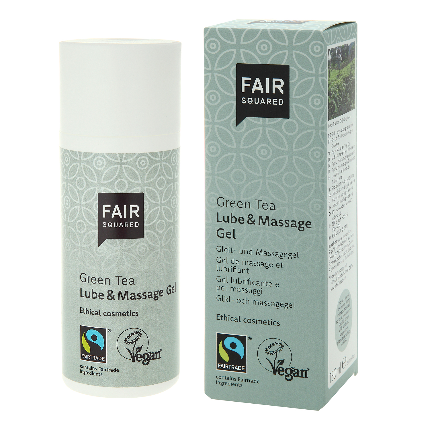 Lube & Massage Gel Green Tea