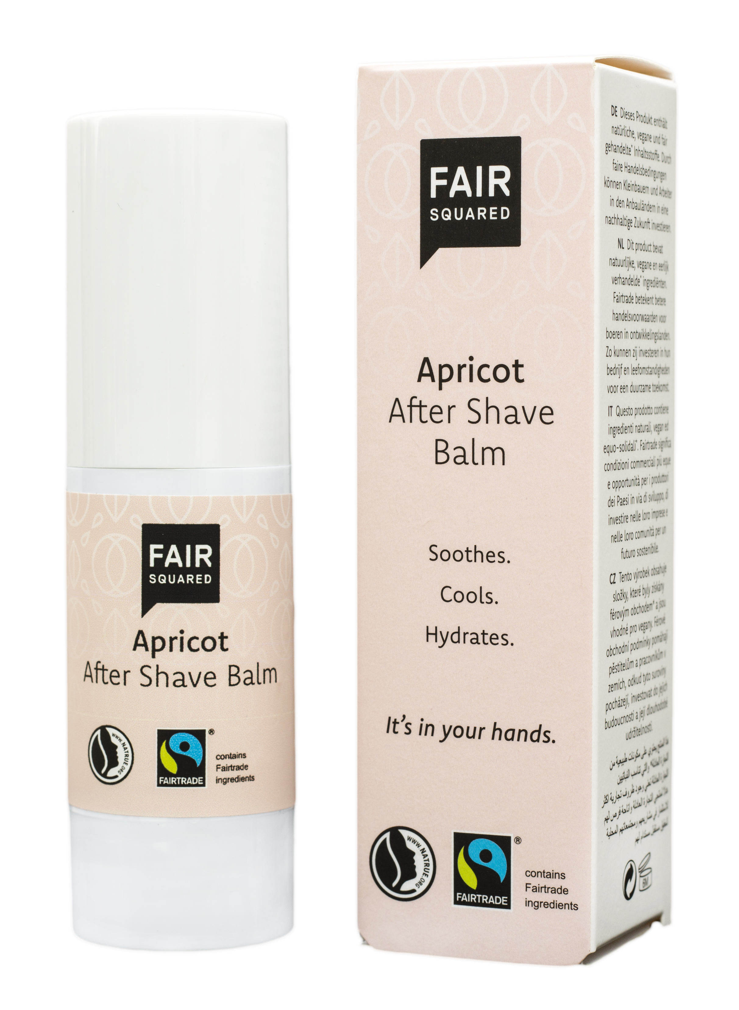 FAIR SQUARED After Shave Balm Apricot