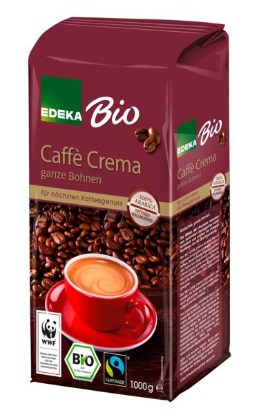 EDEKA Bio Caffé Crema ganze Bohne