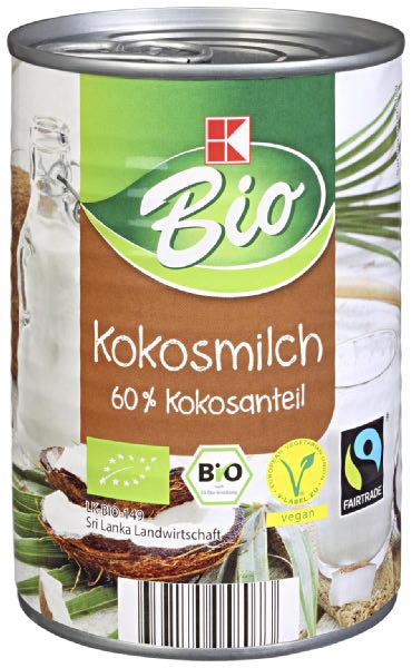 Kokosmilch, 60% Kokosanteil