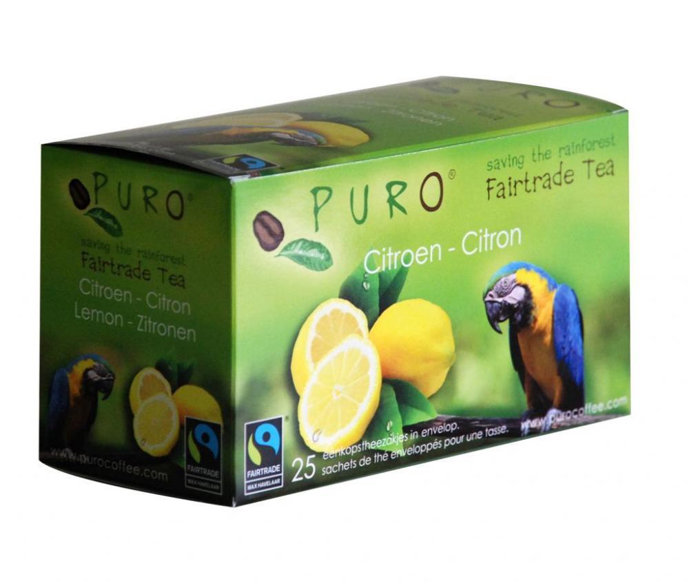 Puro - Fairtrade thee citroen - 50 gr