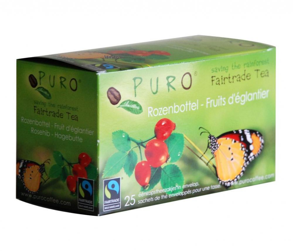 Puro - Thé équitable fruits d'églantier - 50 gr