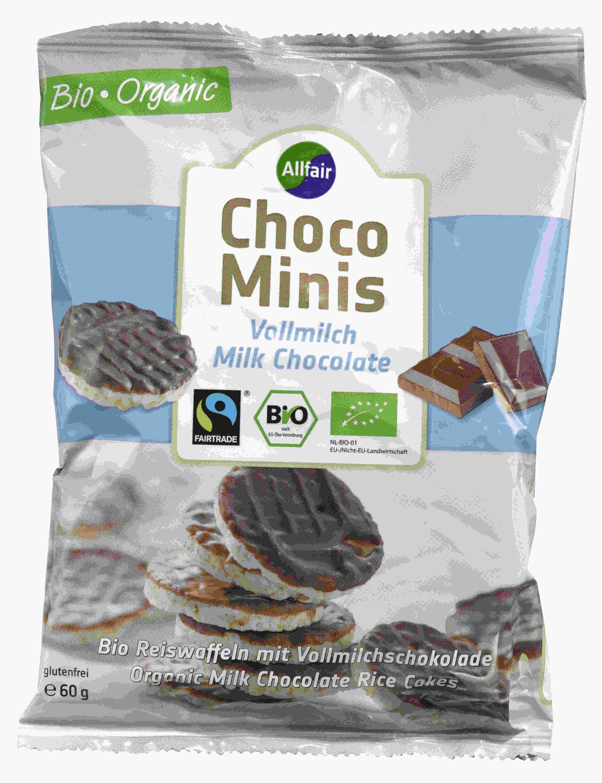 Allfair choco minis vollmilch milk chocolate