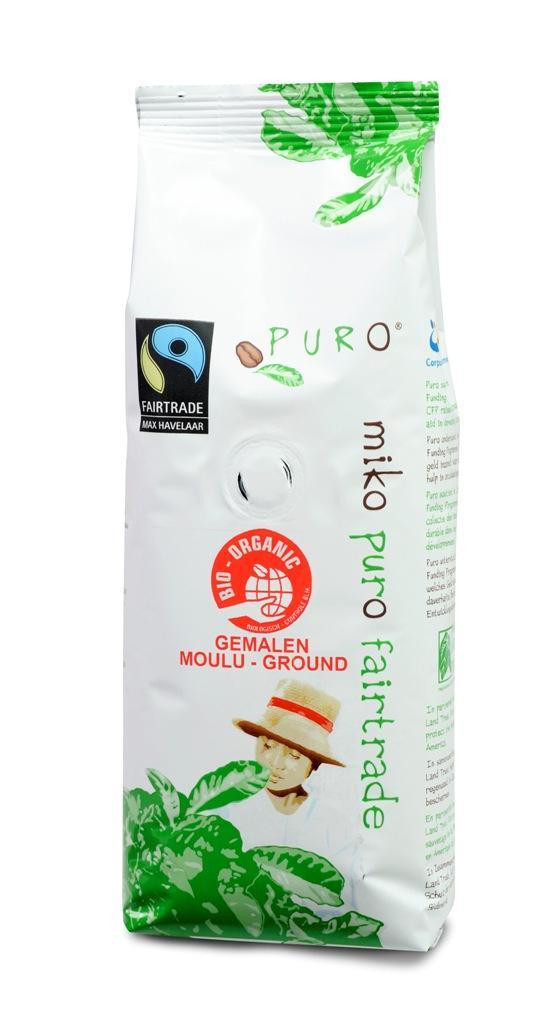 Puro - Café équitable Bio moulu - 250 gr