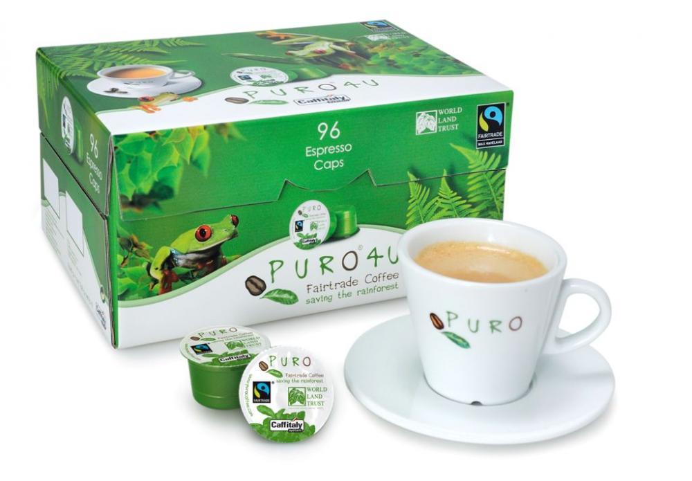 Puro - Café équitable capsules caffé crème - 96 pcs