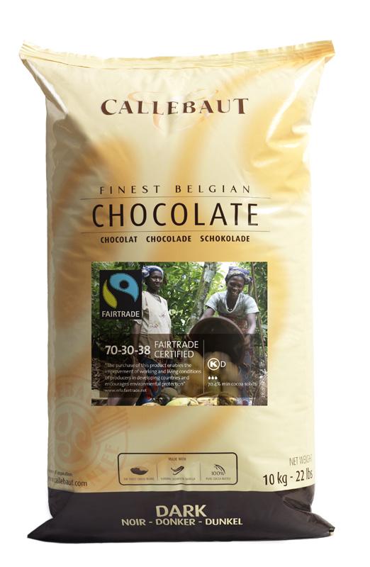 Callebaut - Callets - zwarte chocolade - 10 kg