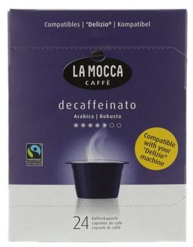 Kaffee entkoffeiniert Delizio (24 Kapseln)