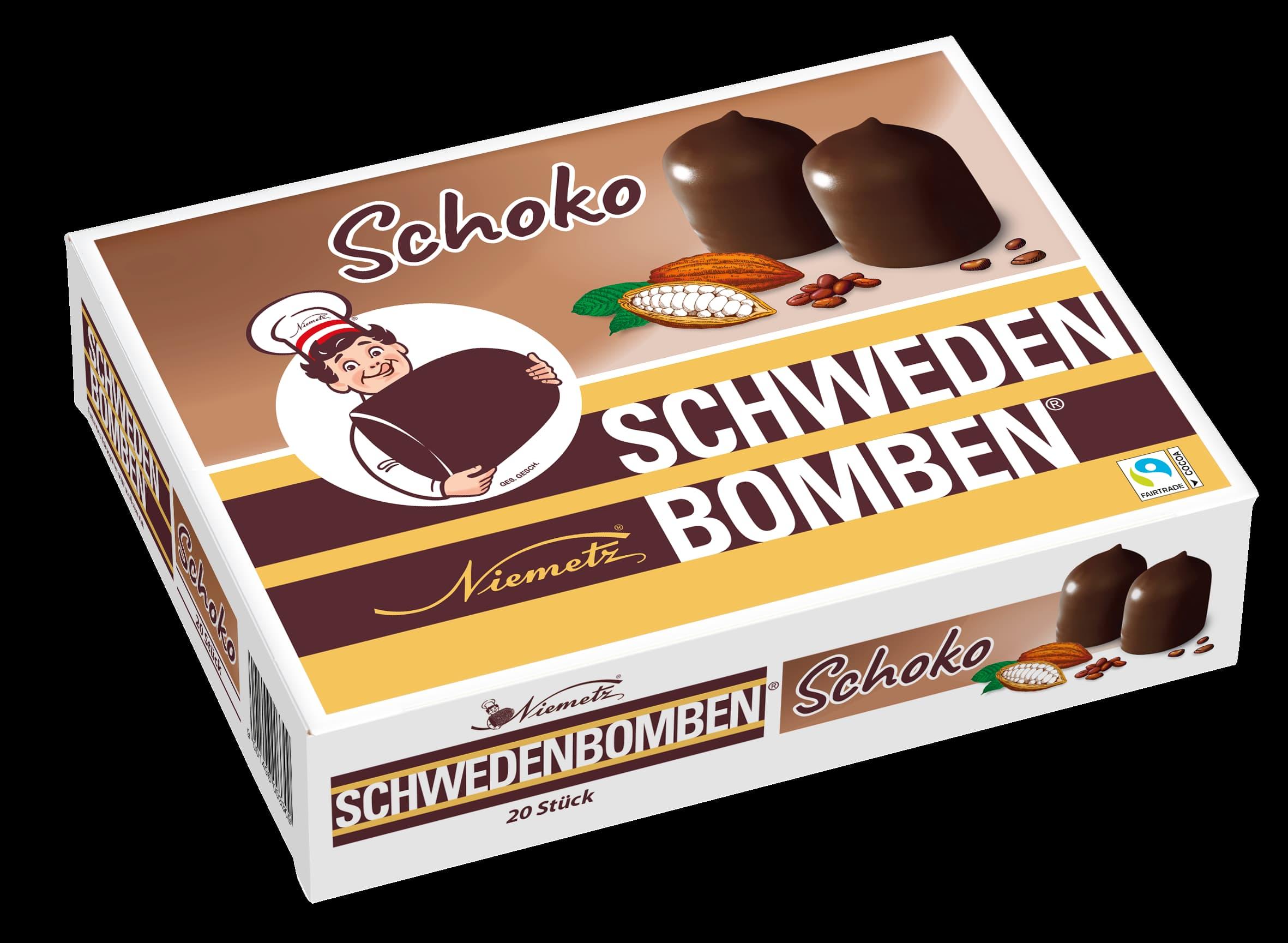 Schwedenbomben Schoko 20Stk.