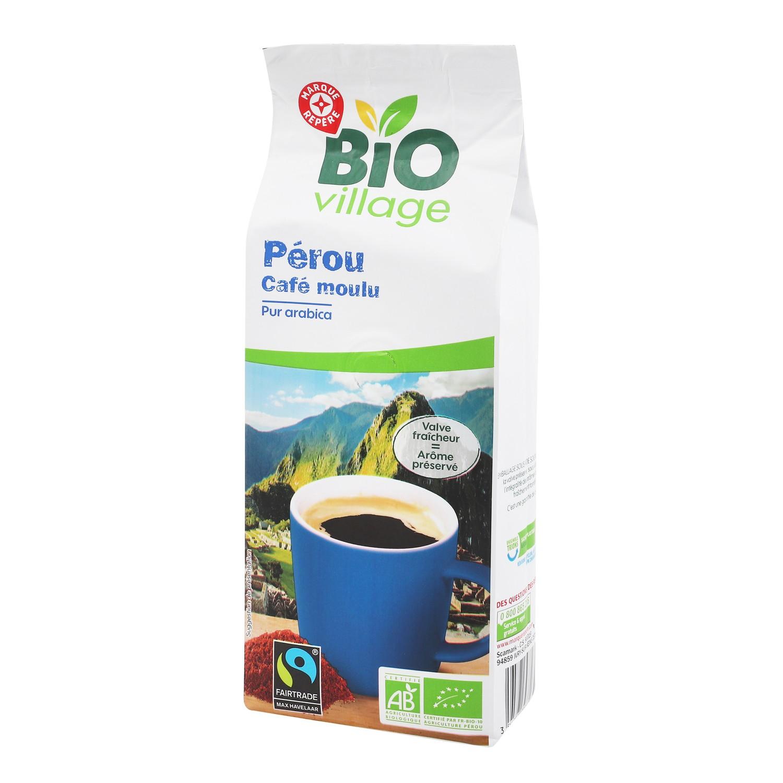 CAFE MOULU PUR ARABICA PEROU BIO 250G