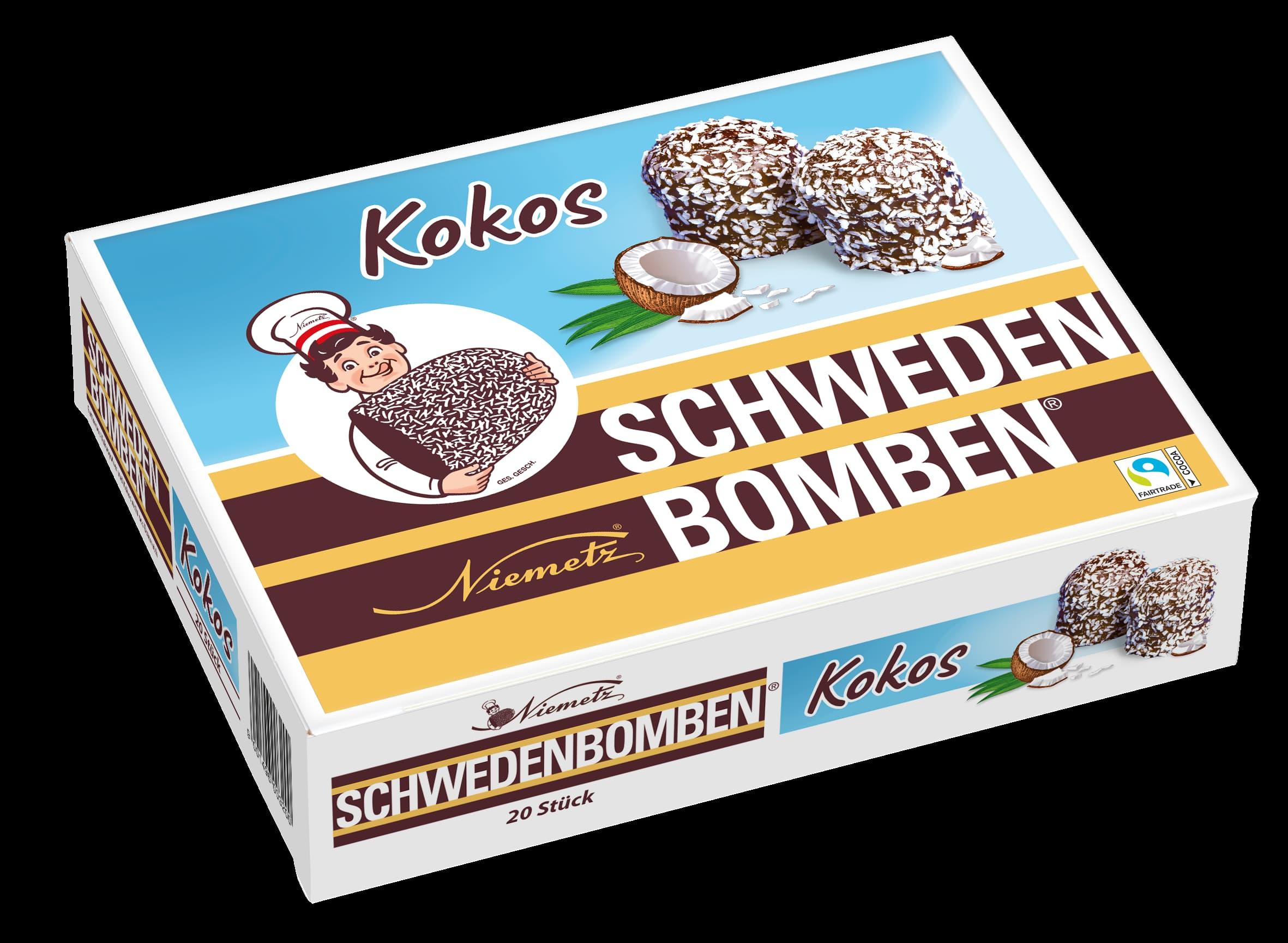 Schwedenbomben Kokos 20Stk.