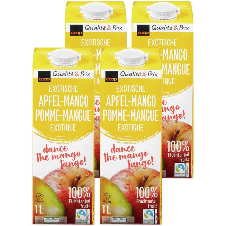 Fruchtsaftmischung mit Apfel- und Mangosaft
