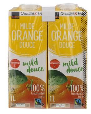 Orangensaft mild
