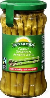 Grüne Spargeln (4x100g)