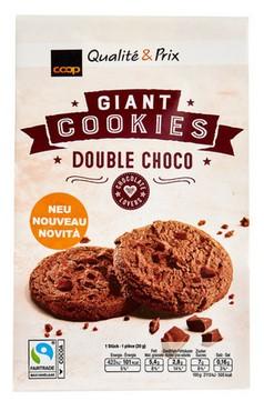 Schokoladen Cookies mit Milchschokolade