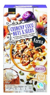 Crunchy Coco, Nuts & Seeds