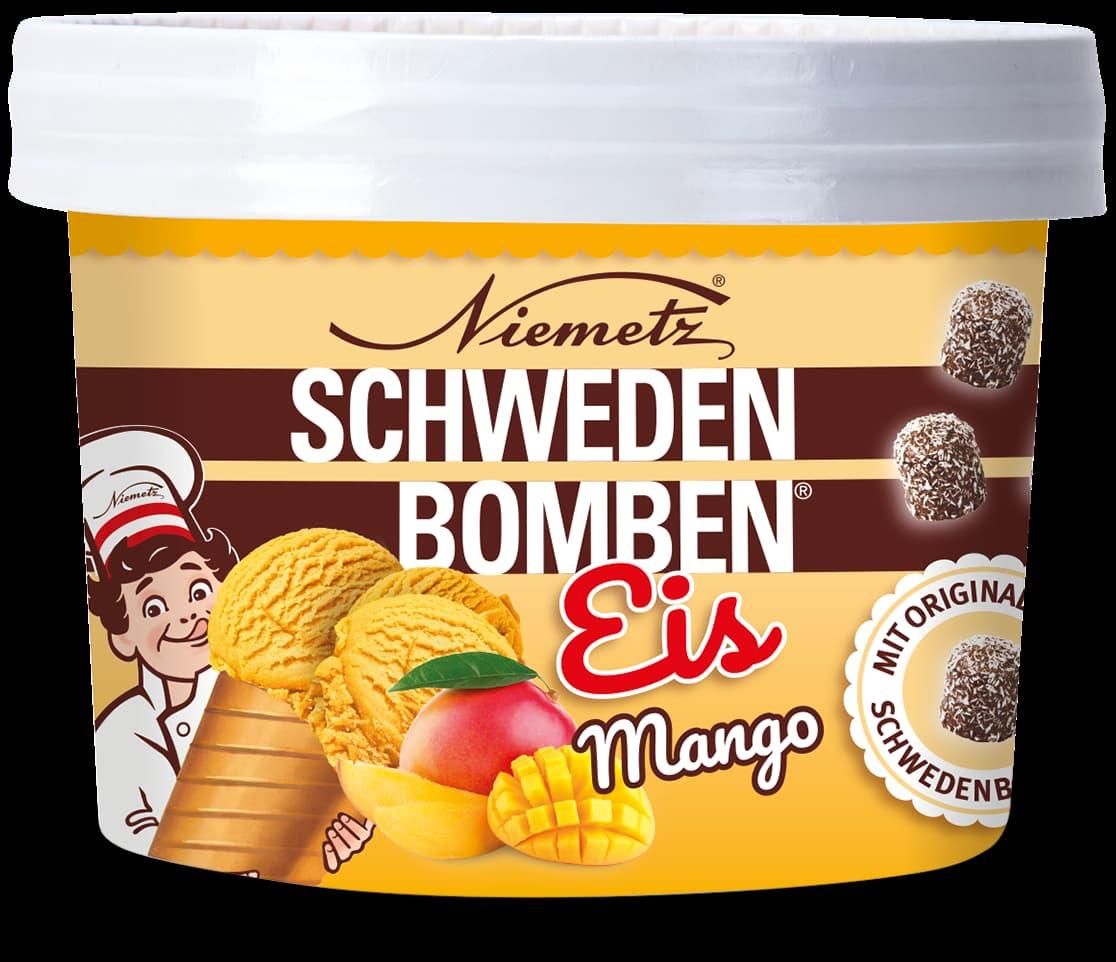 Schwedenbomben Eis Mango